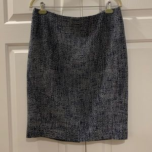 Ann Taylor Tweed Pencil Skirt Size 12